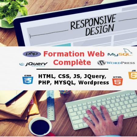 Formation Web Complète – HTML, CSS, JAVASCRIPT, JQUERY, BOOTSTRAP, PHP, et MYSQL à Rabat Agdal